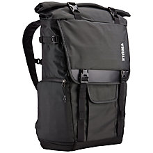 Buy Thule Covert DSLR Rolltop Backpack, Dark Shadow Online at johnlewis.com