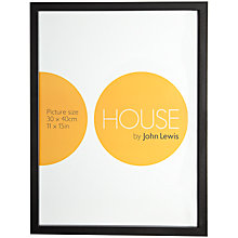 Buy House by John Lewis MDF Wrap Picture Frame, 30 x 40cm Online at johnlewis.com