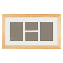 Buy John Lewis 4 Aperture Wall Mounted Picture Frame, H22 x W44cm Online at johnlewis.com