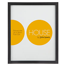 Buy House by John Lewis Basic Picture Frame, 24 x 30cm Online at johnlewis.com