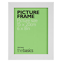 "Buy John Lewis The Basics Poplar Picture Frame, 6 x 8"" Online at johnlewis.com"