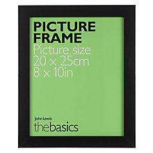 "Buy John Lewis The Basics Picture Frame, 8 x 10"" Online at johnlewis.com"