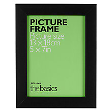 "Buy John Lewis The Basics Picture Frame, 5 x 7"" Online at johnlewis.com"