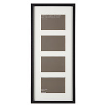 "Buy John Lewis 4 Box Picture Frame, 6"" x 4"" (10 x 15cm) Online at johnlewis.com"
