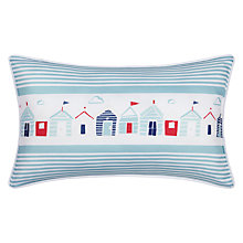 Buy John Lewis Beach Huts Bath Pillow Online at johnlewis.com