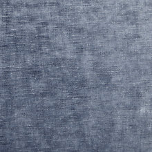 Buy John Lewis Ruskin Velvet Fabric, Denim Blue, Price Band F Online at johnlewis.com