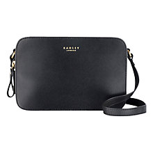 Buy Radley Barbican Leather Across Body Bag Online at johnlewis.com