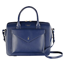 Buy Radley Keats Grove Leather Multiway Bag, Navy Online at johnlewis.com