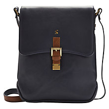 Buy Joules Laverton Across Body Leather Bag Online at johnlewis.com