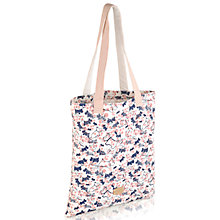 Buy Radley Cherry Blossom Dog Print Tote Bag, Multi Online at johnlewis.com