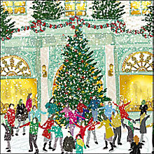 Buy Woodmansterne Winter Flurry Charity Christmas Cards, Pack of 5 Online at johnlewis.com