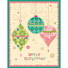 Buy Special Editions Christmas Baubles Cards, Pack of 6 Online at johnlewis.com