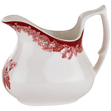 Buy Spode Winter's Scene Cream Jug Online at johnlewis.com