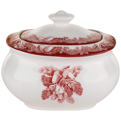 Spode Winter's Scene Covered Sugar Bowl