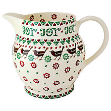 Buy Emma Bridgewater Joy Jug, 6-Pint Online at johnlewis.com