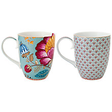 Buy Pip Studio Fantasy Set of 2 Mugs, Large Online at johnlewis.com
