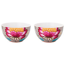 Buy PiP Studio Fantasy Porcelain Bowls, Set of 2 Online at johnlewis.com