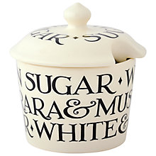 Buy Emma Bridgewater All Over Text Sugar Bowl Online at johnlewis.com