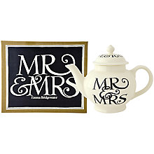 Buy Emma Bridgewater Mr. and Mrs. 4 Cup Teapot with Gift Box Online at johnlewis.com
