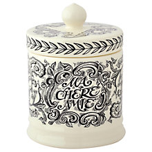 Buy Emma Bridgewater Black Toast Small Lidded Candle Online at johnlewis.com