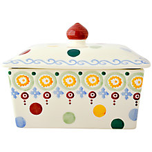 Buy Emma Bridgewater Polka Dot Butter Dish Online at johnlewis.com