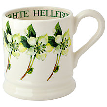 Buy Emma Bridgewater White Hellebore 1/2pt Mug Online at johnlewis.com