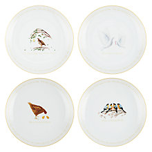 Buy John Lewis 12 Days of Christmas Plates, Set of 12 Online at johnlewis.com