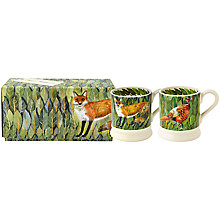 Buy Emma Bridgewater Fox and Pheasant 1/2pt Mugs, Set of 2 Online at johnlewis.com