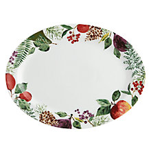 Buy John Lewis Winter Berries Platter Online at johnlewis.com