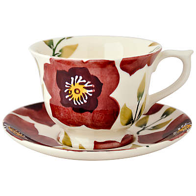 Emma Bridgewater Christmas Rose Teacup & Saucer