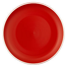 Buy John Lewis Puritan Side Plate, Red Online at johnlewis.com