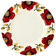 Buy Emma Bridgewater Christmas Rose Plate, 28cm Online at johnlewis.com
