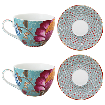 PiP Studio Fantasy Set of 2 Cappuccino Cup and Saucer