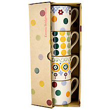 Buy Emma Bridgewater Espresso Cups, Multi, Set of 4 Online at johnlewis.com