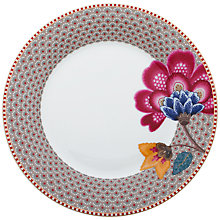 Buy PiP Studio Fantasy Plate, Khaki Online at johnlewis.com