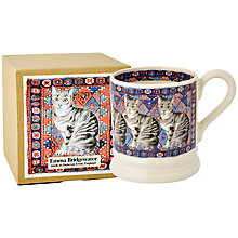 Buy Emma Bridgewater Tabby Cats On Rug 1/2pt Mug Online at johnlewis.com