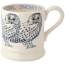 Buy Emma Bridgewater Snowy Owl 1/2pt Mug Online at johnlewis.com