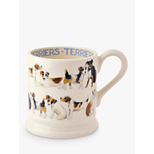 Buy Emma Bridgewater Terrier All Over 1/2pt Mug Online at johnlewis.com