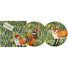 Buy Emma Bridgewater Fox & Pheasant Plates, Boxed, Set of 2 Online at johnlewis.com