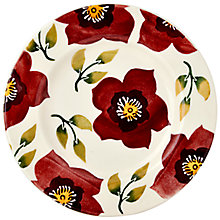 Buy Emma Bridgewater Christmas Rose Plate, 22cm Online at johnlewis.com