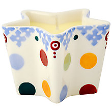 Buy Emma Bridgewater Polka Folk Star Earthenware Candle Online at johnlewis.com