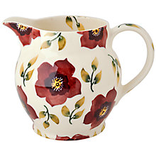 Buy Emma Bridgewater Christmas Rose 1.5-Pint Jug Online at johnlewis.com