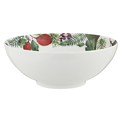John Lewis Winter Berries Bowl, 24cm