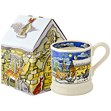 Buy Emma Bridgewater Christmas Half Pint Mug, Boxed Online at johnlewis.com