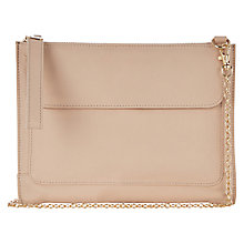 Buy Oasis Betti Leather Clutch Bag Online at johnlewis.com