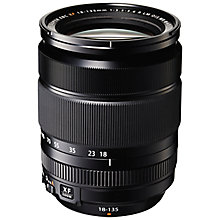 Buy Fujifilm FUJINON XF18-135mm f/3.5-5.6 R LM OIS Wide Range Lens Online at johnlewis.com