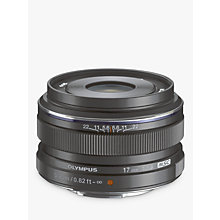 Buy Olympus M.ZUIKO Digital 17mm f1.8 Compact Wide Angle Lens Online at johnlewis.com