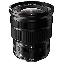 Buy Fujifilm FUJINON XF 10-24mm f/4 R OIS Wide Angle Zoom Lens Online at johnlewis.com