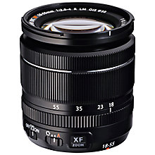Buy Fujifilm FUJINON XF18-55mm F2.8-4 R LM OIS Compact Lens Online at johnlewis.com