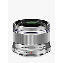 Buy Olympus M.ZUIKO DIGITAL 25mm f1.8 Compact Lens with Lens Hood Online at johnlewis.com
